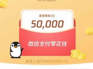 """微信借钱功能怎么开通?微信版官方借呗""""小鹅花钱""""有5万额度"""