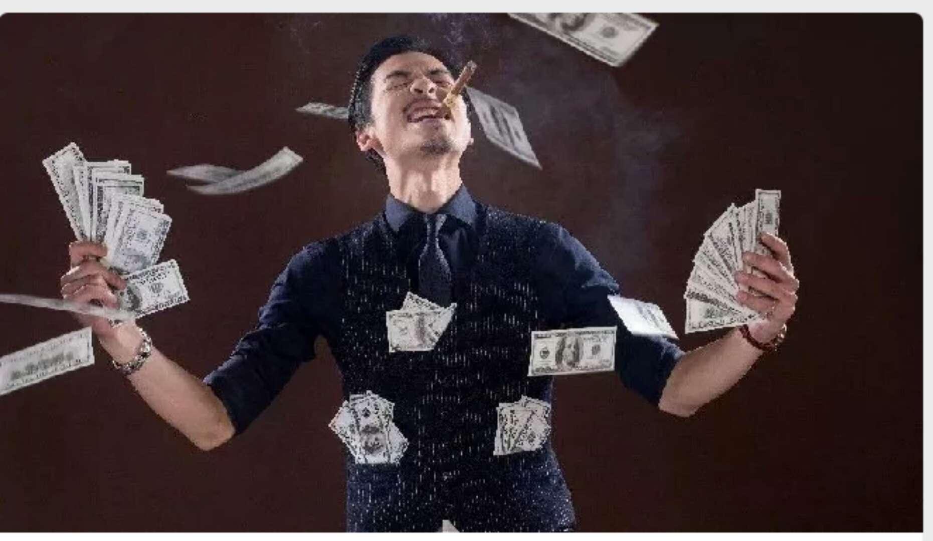什么财富商机让他年赚100万,最高一天干到5万 第1张